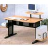 Black And Beech Computer Desk 7029 (CO)