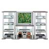 Grey/Silver Finish T.V. Stand 7566 (CO)