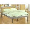 Contemporary Silver Platform Bed 7605 (CO)