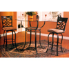 3-Pc Bar Set With Tile Decor 7685/7686 (CO)