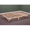 Solid Wood Folding Bed Frame 797_(KDFS)