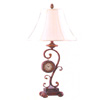 Antique Clock Table Lamp 798 (WD)