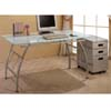 Glass Top Office Desk 800241 (CO)