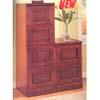 Cherry Finish File Cabinet 80030_ (CO)
