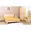 Beech Finish Bed Room Set 801_ (ZC)