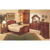 Giovani Visconti Sleigh Bedroom Set 841 (A)
