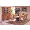 7-Piece Coronado Oak Finish Dinette Set 8610 (A)