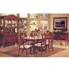 7-Piece French Country Cherry Finish Dinette Set 8740 (A)