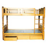 Solid Wood Twin Bunk Bed 8872 (CG)