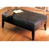 Leather Rectangular Ottoman 8900 (CO)