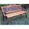 Rose Cast Iron Park Bench 90021 (LB)