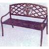 Rose Back Park Bench 90061 (LB)