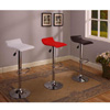 Set of 2 Air Lift Adjustable Bar Stool with Vinyl Seat 9009(