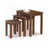 Walnut Finish Nesting Table 901071 (CO)