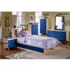Casa Nova Blonde & Blue Bedroom Set 902_ (AZ)