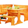 Chelsea Brazilian Pine Table 90368N2-01-KD-U (LN)
