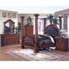 Roman Empire Canopy Bedroom Set 9326/33/40 (A)