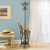 Garden District Umbrella & Coat Rack 935-384(PW)