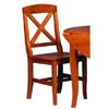 X Back Dining Chair 9372N122-02-AS (LN)