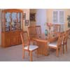 5- Pcs Casual Oak Dining Set 967-42,967-70,967-72(WD)
