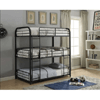 Full Size Triple Metal Bunk Bed 37330(AFS)