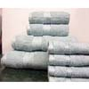8PC. Set Aqua Egyptian Cotton Towels ed8pc (RPT)