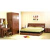 Walnut Finish Bedroom Set C06_ (ZC)