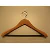 Cedar Contoured Wide Shoulder Suit Hanger CDB8921 (PMFS)