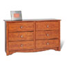 Condo Sized 6-Drawer Dresser DC-4829_ (PP)