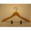 Cedar Concave Suit Hanger with Clips CDD8929 (PM)