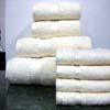 8PC. Set Cream Egyptian Cotton Towels ed8pc (RPT)