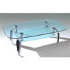 Black/Silver Coffee Table CT316B (PK)