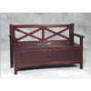 Double X Back Storage Bench 84004T23-01-KD-U(LN)
