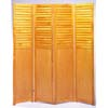 4-Panel Wooden Room Divider F3220K (PX)