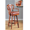 Leather Swivel Bar Stool F4129 (PX)
