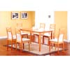 5 Pcs Solid Wood Dinette Set F5445/F5508(TMC)