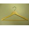 Genesis flat suit hanger w/wooden bar, natural GNA8802 (PM)
