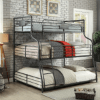 Industrial Triple Decker Bunk Bed Twin/Full/Queen
