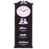 Letter Rack With Clock 1276 (PJ)