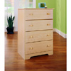 Sycamore Maple-finish 4-drawer Chest 14141057(OFS82)