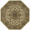 Persian Arts Ivory Rug Octagon 14325163(OFS144)