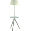 Tavla Glass Tray Floor Lamp LS-8029PS (LS)