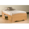 Twin Platform Storage Bed BT-4100-2K_ (PP)