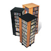 4-Sided Spinning Tower MS-0800_ (PP)(Free Shipping)