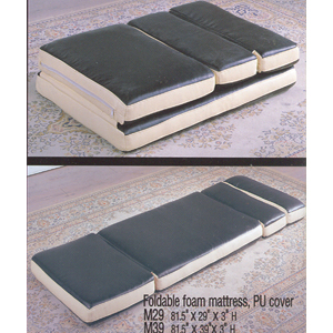 Extra Long Memory Foam Fold-able Mattress M_(AVIFS)