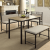 Corner Nook 3 Piece Dining Set RBRS8616(WFFS)
