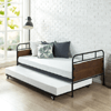 Santa Fe Twin Bed and Trundle Frame Set