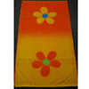Orange-Floweral Egyptian cotton Beach Towel (RPT)
