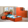 Bed With One Drawers In Cherry Finish P166 (PK)