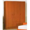 3-Door & 4-Drawer Wardrobe P302 (PK)